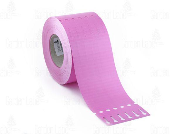 Etykieta pętelkowa Allfolin – 250x17x10-15, różowa
