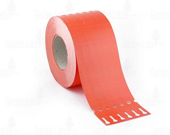 Etykieta pętelkowa Allfolin – 250x17x10-15, czerwona