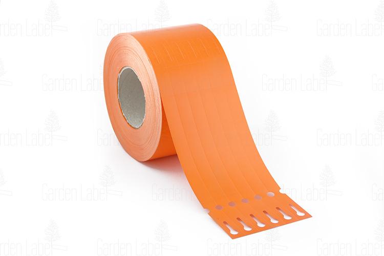 Etykieta pętelkowa Allfolin – 250x17x10-15, pomarańczowa