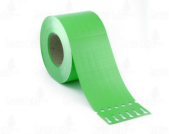 Allfolin loop label – 250x17x10-15, green