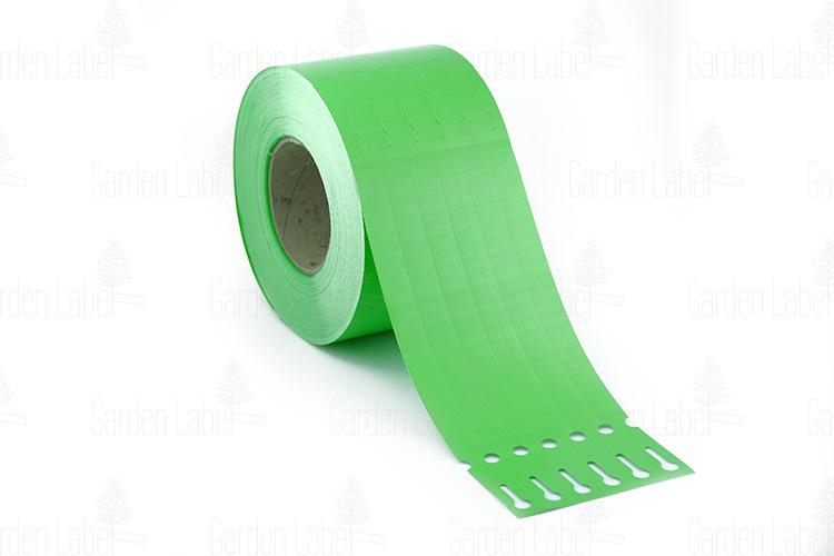 Etykieta pętelkowa Allfolin – 250x17x10-15, zielona