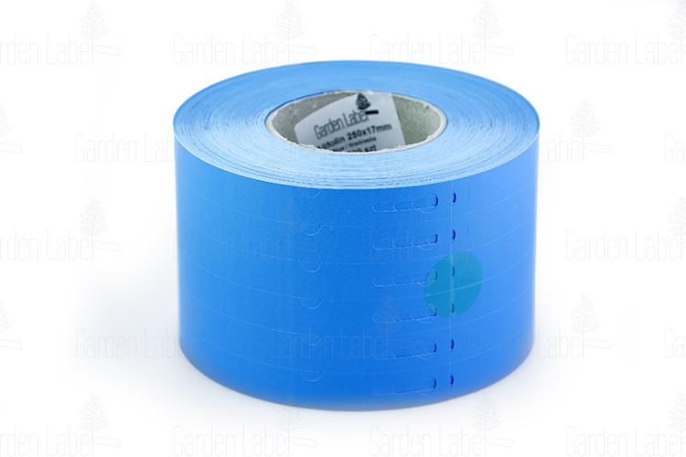 etykieta pętelkowa Allfolin 250×17 niebieska -(3)