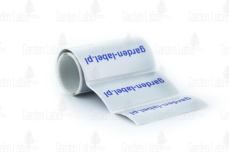 etykieta foliowa PP lub PET 100×75