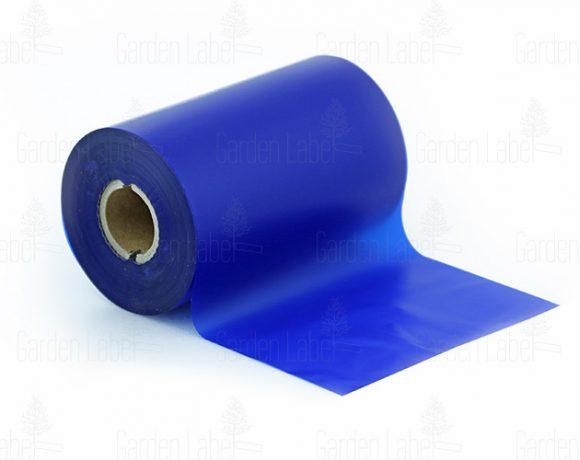 """Taśma barwiąca """"wosk-żywica"""" SUPER, niebieska -110mm x 300m"""