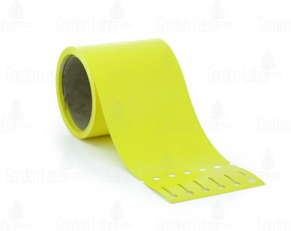 Allfolin loop label – 250x17x10-15, yellow