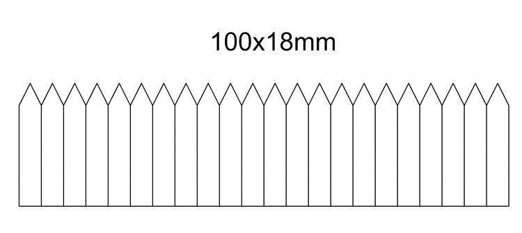 etykieta wtykana 100×18- na rolce