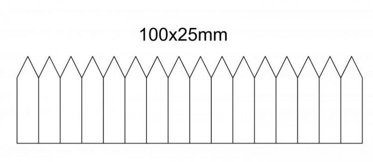 etykieta wtykana 100×25- na rolce