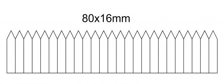 etykieta wtykana 80×16- na rolce
