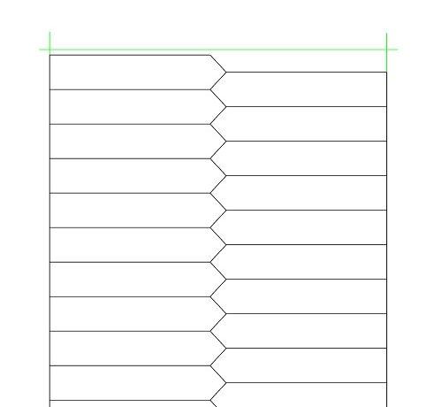 Etykieta wtykana 110×21,5×0,15