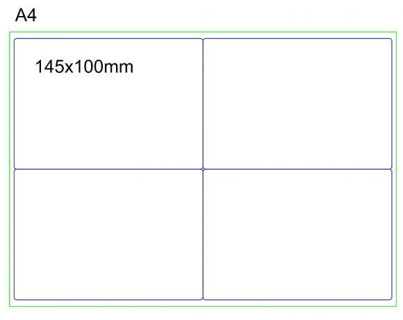 RC PET BCO label 100 × 145 – LASER