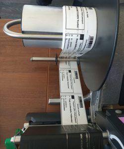 Drukowanie paszportu roślin naetykietach samoprzylepnych wdrukarce termotransferowej. (Fot.Garden Label).