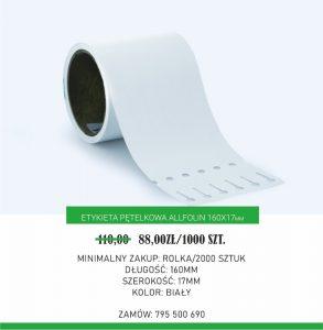 Etykieta pętelkowa 160x17 mm wobniżonej cenie do7 lipca 2020 r. (Fot.Garden Label)
