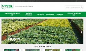 Katalog roślin online Grupy Kapias. Źródło: hurt.kapias.com.pl