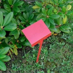 Ogrodowe tabliczki cenowe totakże etykiety doroślin. Wygodne itrwałe. Można nanienaklejać etykiety samoprzylepne. Fot.Garden Label.
